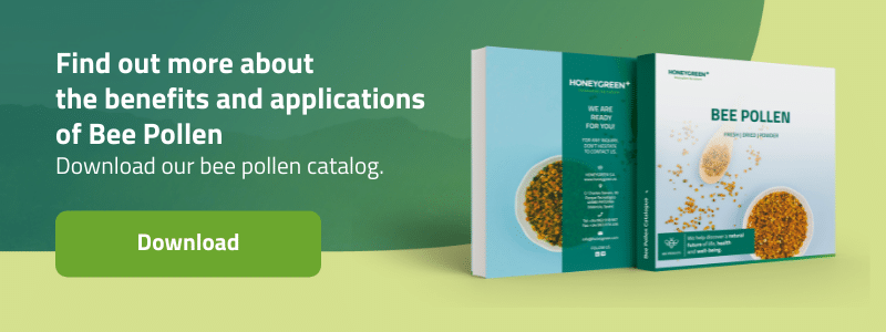 Find out more about the benefits and applications of Bee Pollen